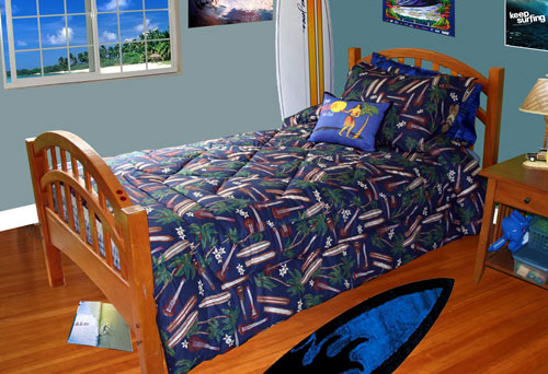 Surfboard Bed Set