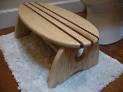 Surfboard Step Stool For The Little Ones By Dean Miller