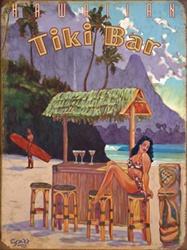 Tiki Bar Sign Availalbe At Deanmillerprints Com