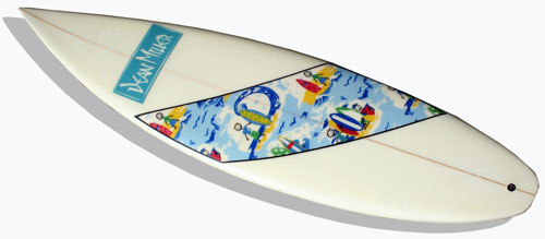 Hawaiian Surfboard