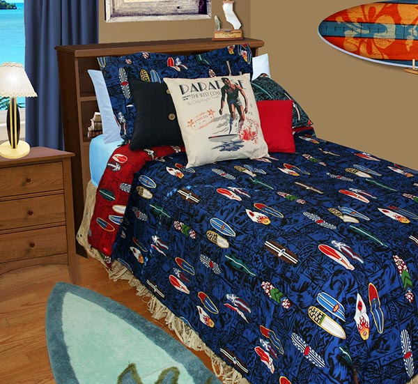 Surfboard Bedding